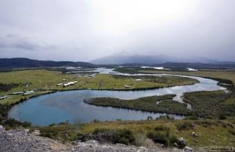 Река Rio Serrano.