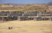 Три ряда стен комплекса Саксайуаман.