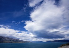 Облака над озером Toro.