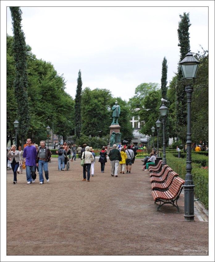 Сквер-бульвар Эспланада.