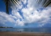Тропическая идиллия на пляже Cerro Gordo.