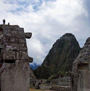 Вид на гору Уайна-Пикчу из Мачу-Пикчу.
