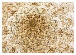 Купол зала Двух Сестер (Sala de las Dos Hermanas) - центральная комната покоев султанши.