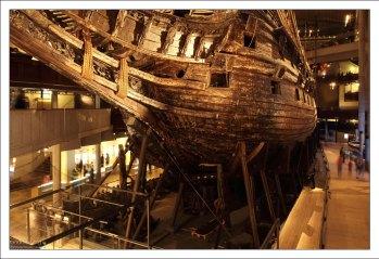 Музей боевого корабля Vasa.