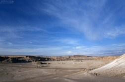 Шоссе через Долину Луны, и тропинка, ведущая на вершину Дюны Гранде.