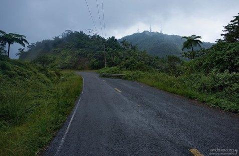 Изгибы шоссе Ruta Panoramica.