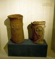Предметы домашнего обихода коренных индейцев Atacameño. Музей Gustavo Le Paige Archaeological Museum в Сан-Педро.