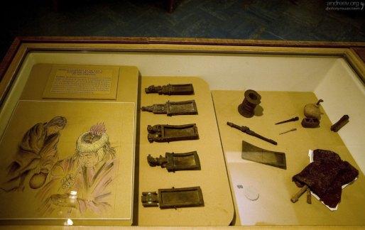 Набор юного кокаиниста. Музей Gustavo Le Paige Archaeological Museum в Сан-Педро.