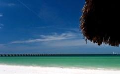 Зеленое побережье Мексиканского залива.