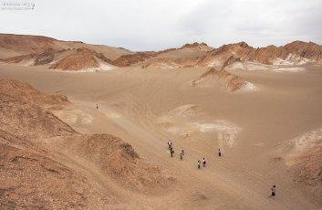 Дюны в Марсовой долине.