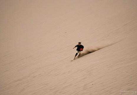 Профессионал сэндбординга. Марсовая долина.