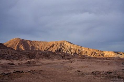 Закат в Марсовой долине.