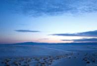 Между дюн часто встречаются абсолютно ровные участки.