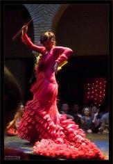 Шикарный наряд танцовщицы. Музей фламенко.