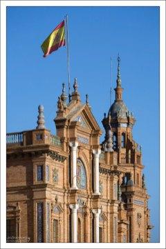 Фасад Здания правительства на Площади Испании.