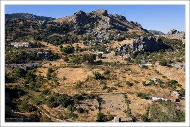 """Национальный парк """"Sierra de Grazalema Natural Park""""."""