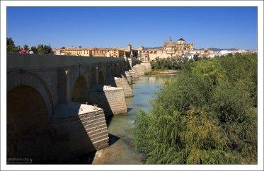 Puente Romano - Римский мост через Гвадалквивир.