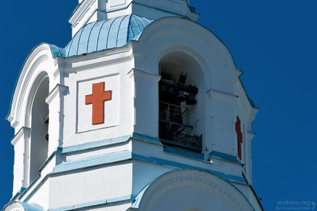 Колокольня Преображенского собора. Архитектор А.М.Горностаев.