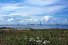 Строительство нового порта у границ Василеостровского района.