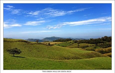Зеленые Холмы Коста-Рики. Под влиянием этого снимка придумалось название для рассказа о путешествии.