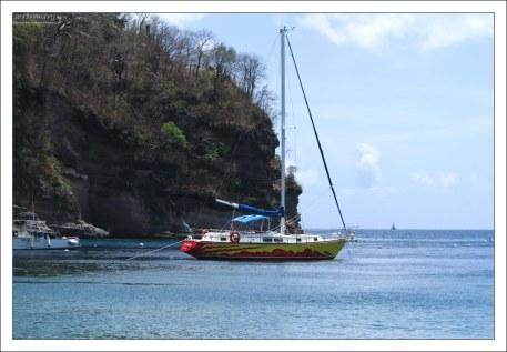 Туры на лодках и яхтах по морскому заповеднику Anse Chastanet.