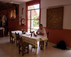 "В гостях у индейцев Майя в ресторане ""Chak-Mul"". Santa Elena, полуостров Юкатан."