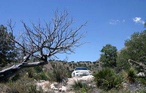 """Только что приехали в кемпинг """"Pine Springs"""". Guadalupe Mountains National Park."""