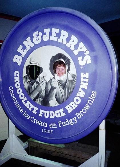 """Фабрика мороженого """"Ben and Jerry""""."""
