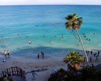 Пляж в Тулуме.