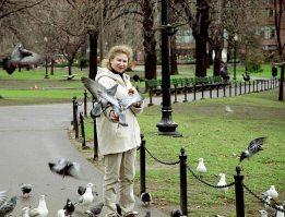 Раздача халявы. Boston Common Park.