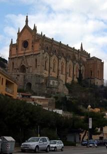 Готический собор San Francesco. Прибрежный город Gaeta.