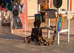 Деревянные скелетики как иллюстрация к игре Грим Фанданго :) Тулум, полуостров Юкатан.