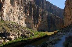 Мексиканская стена каньона Св. Елены.