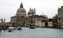 Устье Гранд Канала и церковь Santa Maria della Salute.