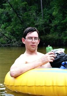 Капитан тюбы :-) Blackwater river.