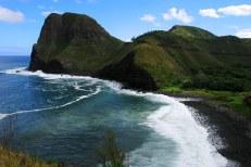 194-х метровый утес Kahakuloa Head.