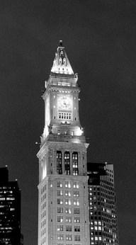Greek Revival Custom House Tower. Долгое время оставался единственным небоскребом Бостона.