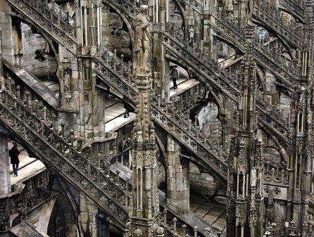 Готическая абстракция. Миланский Duomo.