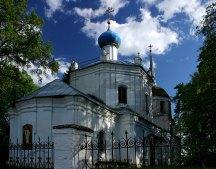 Церковь села Прутня под Торжком.