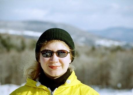 """На склонах горнолыжного курорта """"Stowe""""."""