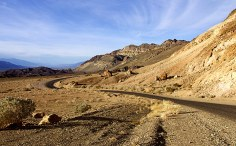 Дорога через Золотой каньон.
