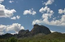 Горная гряда Chisos Mountains.