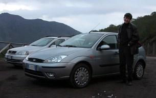 Илья и Форд Фокус турбо дизель на склоне Везувия.