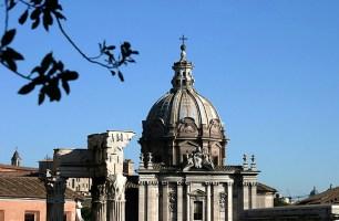Купол древнеримского сената - Курии. Римский Форум.
