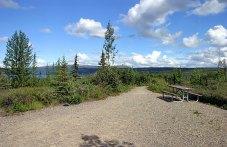 Место для пикника. В районе озера Wonder lake.