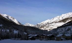 Снежная долина Rhemes Notre-Dame.