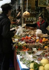 Овощной базар. Рынки Rialto.