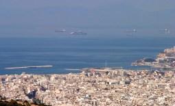 Эгейское море у берегов Афин.