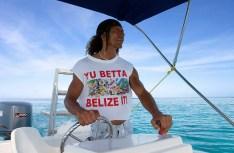 Колоритный капитан - индеец-майя.