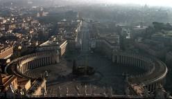 Площадь Piazza San Pietro. Раннее утро.